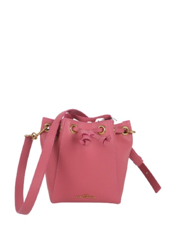 Marc Jacobs pink Marc Jacobs The Bucket M0016816 Crossbody Bag In Muted Rose 4D6C1ACC46566FGS_1