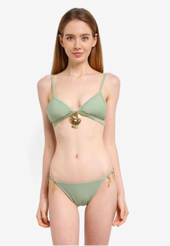 Yshey green Ocean Jewell Lydia Bikini Set F491DUS6B18C1FGS_1