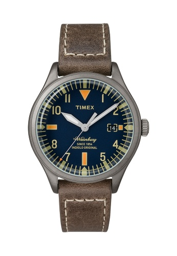 TIMEX brown Timex The Waterbury™ Mid - TW2P84400 TI205AC0RDKAMY_1