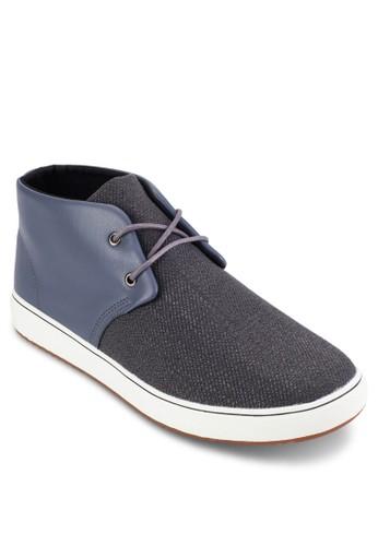 撞色混合拼esprit分店地址接低筒靴, 鞋, 休閒鞋