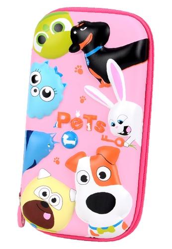Yome pink YOME Pencil Case Secret Pet 57F0EKCBF5E1C6GS_1