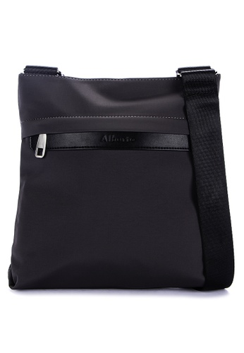 Alberto grey Solid Tone Messenger Bag 3EC31ACCB787ECGS_1