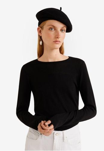 MANGO black Fine-Knit Sweater 6A7BDAA511A61FGS_1
