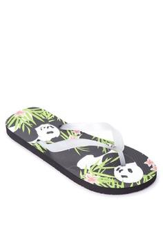 Love Pandas Flip Flops