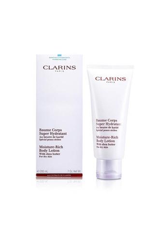 CLARINS CLARINS - 柔潤身體乳-乾燥肌膚 Moisture Rich Body Lotion with Shea Butter 200ml/7oz 4F19FBE912702BGS_1