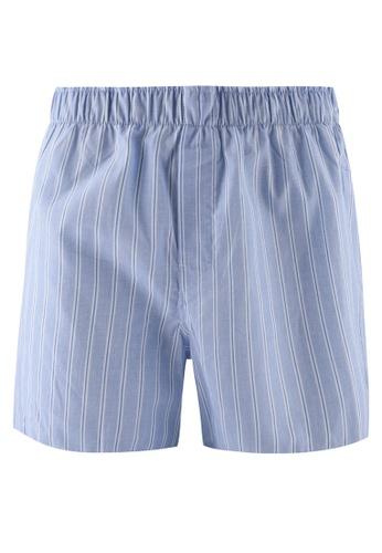 GAP blue Eoe Stripe Boxers 29F74US9D5D026GS_1