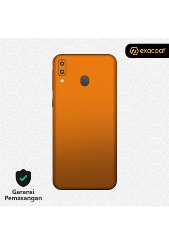 Exacoat Galaxy M20 3M Skins True Colors - Pumpkin Orange F331AES072B427GS_1