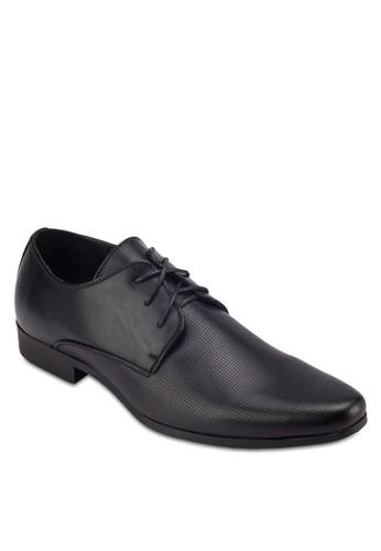沖孔zalora時尚購物網評價繫帶吉布森皮鞋, 鞋, 皮鞋