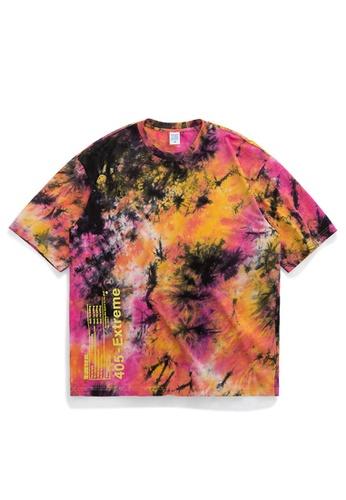 HAPPY FRIDAYS Tie-Dyed Oversize T-Shirt 1107S20 1F43CAA80B20E0GS_1