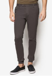 SPARROW GREEN black Ed Slim Jogger Pants SP065AA45WLEMY_1