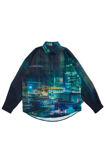 Twenty Eight Shoes Stylish Printed Long Sleeve Shirt 2113W20 3C1C5AA38B62E9GS_1