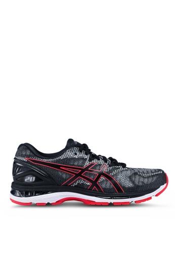 Asics black Gel-Nimbus 20 Shoes BDE09SH054E5EDGS_1