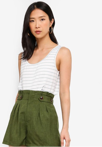 ZALORA BASICS white Basic Tank Top 54796AA859112BGS_1