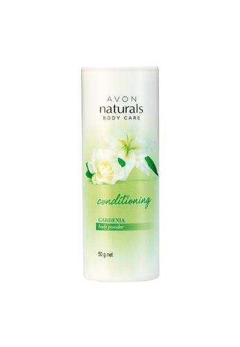 Avon n/a Naturals Conditioning Gardenia Body Powder 50 g AV454BE78YYBPH_1