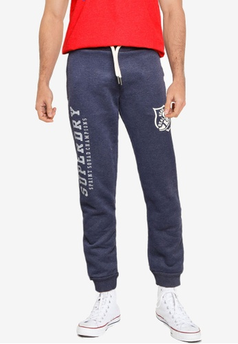 Superdry 藍色 T&F Joggers 15F24AA998D67AGS_1