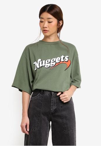 Stylenanda green Nuggets Tee A6064AAF16B8C9GS_1