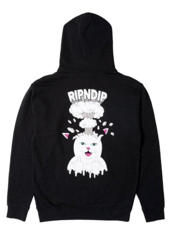 RipNDip black MIND BLOWN HOODIE 5A123AA8943283GS_1