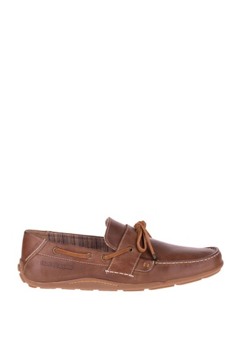 Hush Puppies brown Vasil Coppia Casual Shoes HU326SH48EWDPH_1