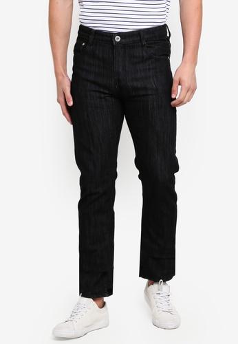 Fidelio 黑色 修身Straight 休閒丹寧 牛仔褲 A57D5AA5219FA8GS_1