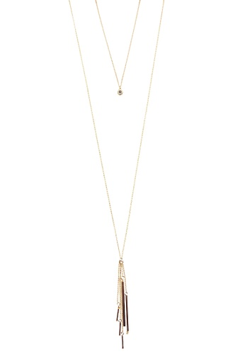 LUCCACAL Tassel Layered Necklace LU294AC0S042MY_1