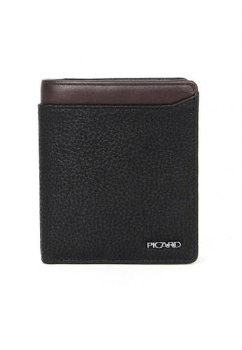Picard black Munich Cardholder Wallet PI517AC88CGTSG_1