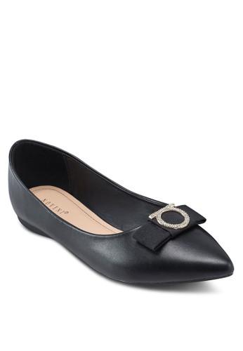 蝴蝶結尖頭平底鞋, esprit 澳門女鞋, 鞋