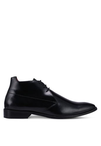 ACUTO black Leather Business Shoes 5EFD2SHE93FC4AGS_1