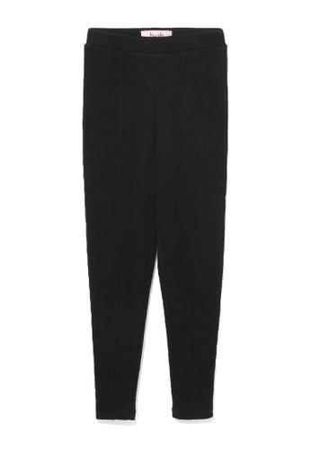 b+ab black Rib leggings 6D444AA0FCC09CGS_1
