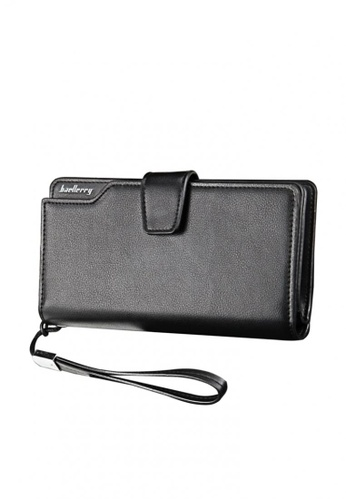 Fashion by Latest Gadget black Baellerry Leather Wallet with Coin Purse 729C4ACE4BC463GS_1