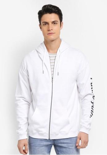 Cotton On white Neue Zip Hood 33415AA751D035GS_1