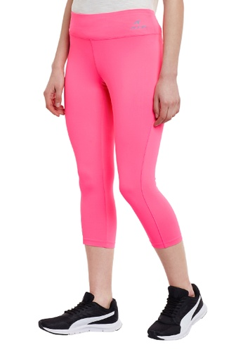 ALCIS pink Alcis Core Workout Training/Running Pink Leggings 91A90AAC16FDC0GS_1