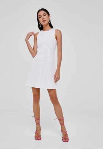 Love, Bonito white Valencia Broderie Anglaise A-line Dress AC194AA67B0604GS_1