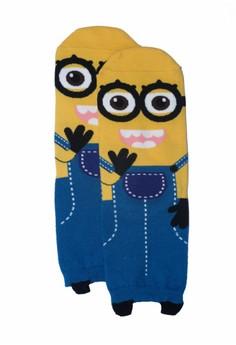 Character Blue Long Socks
