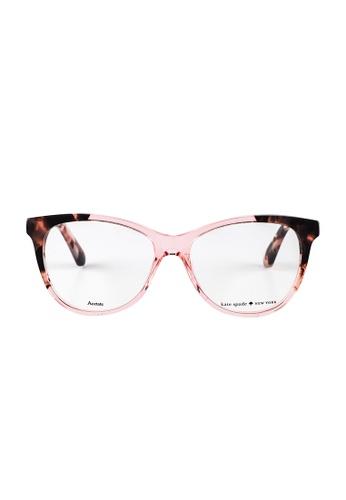 Kate Spade brown Kate Spade Johnna Tortoise Eyeglasses OO4 KA433AC20JUDMY_1