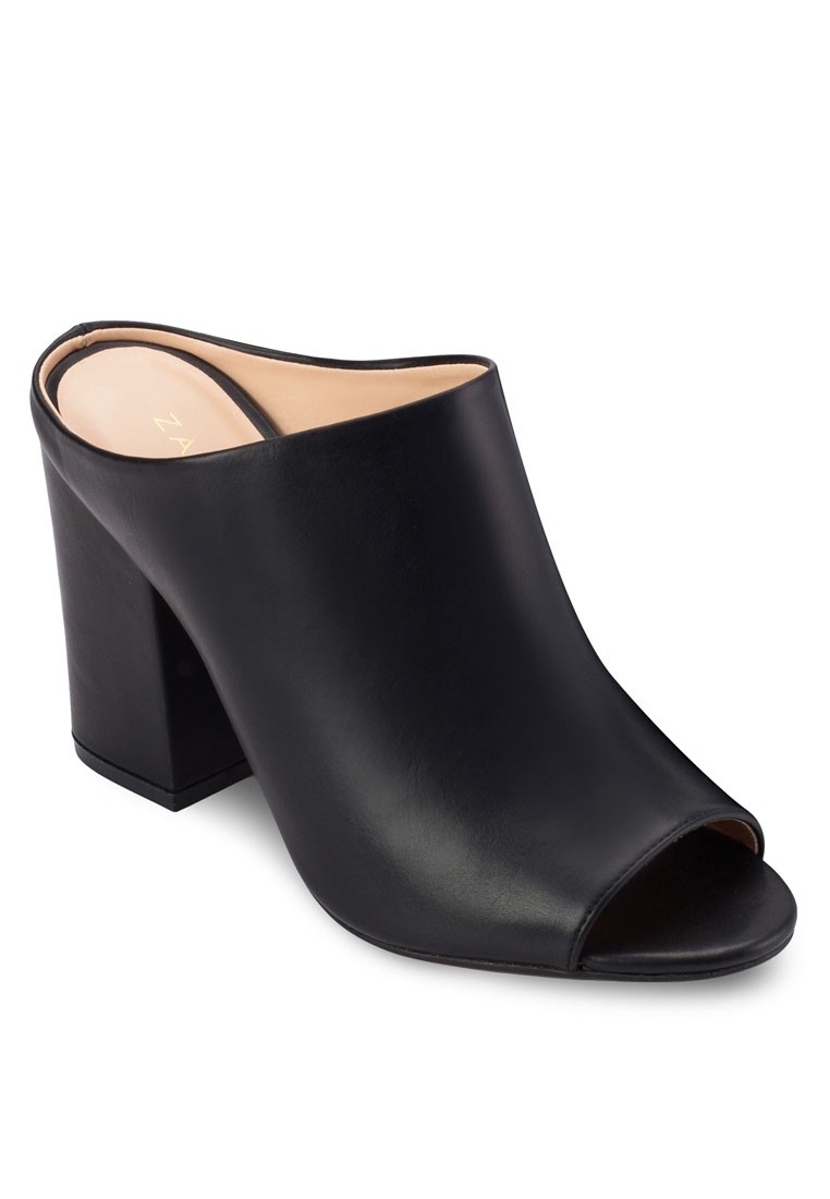 Mule Heel Sandals