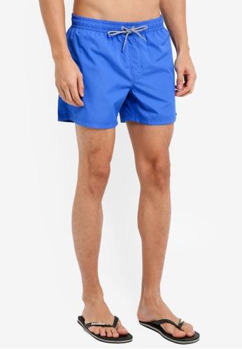 MANGO Man blue Basic Swimsuit DE2B6AAE61BAB7GS_1