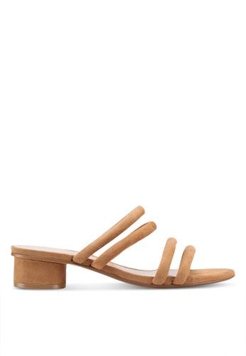 Mango brown Multiple Strap Sandals 76119SHCA51C08GS_1