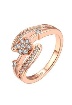 Carmen Diamond 18K Rose Gold Plated Ringn Size 6