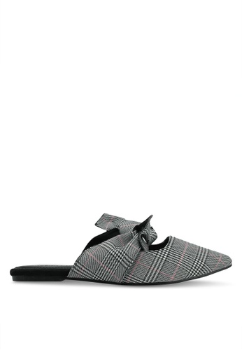 Glamorous 多色 格紋穆勒鞋 66D79SHC12DB3CGS_1