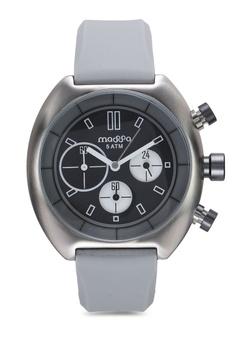 eb9888728424 Massa Collections grey Vigo Grey Silicon Sporty Watch F7858ACDDF0382GS 1