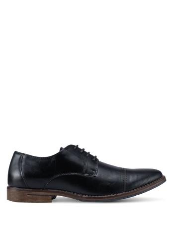 Bata black Solid Derby Shoes 974B7SH7F5C929GS_1
