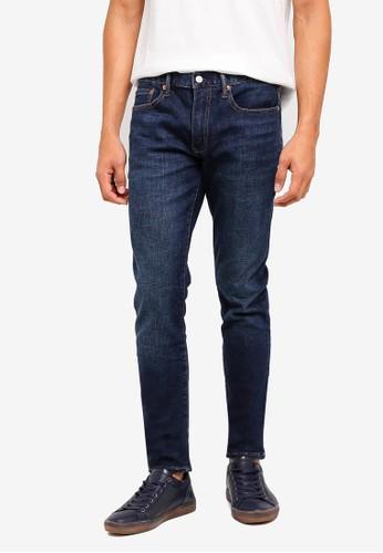 GAP blue Skinny Worn Jeans 22532AA304C3DFGS_1