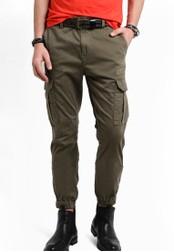 Boss Orange green Shay Pants BO434AA92MGTMY_1