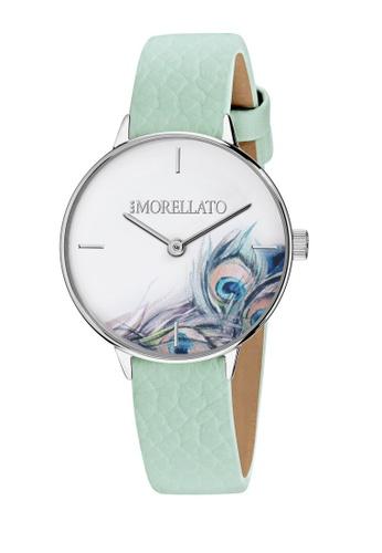 Morellato blue Ninfa Quartz Watch R0151141523 Light Blue Leather Strap 4B806ACE1EB371GS_1