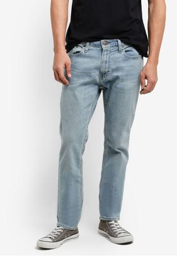 Hollister blue Light Skinny Jeans HO422AA65INQMY_1