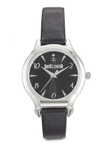 R7251533505 Just Fusion 皮革圓錶, esprit台灣門市錶類, 飾品配件