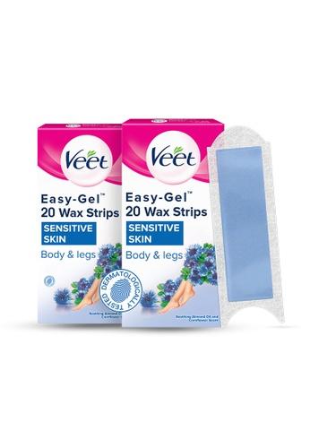 Veet Veet Wax Removal Strip for Sensitive Skin 20s - Bundle of 2 8452CESE192CE6GS_1