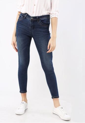 Hotkiss blue Denim Long Pants Slimfit Ladies 8F891AAE18320EGS_1