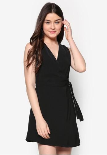 裹式無袖連身裙,zalora 心得 ptt 服飾, 正式洋裝