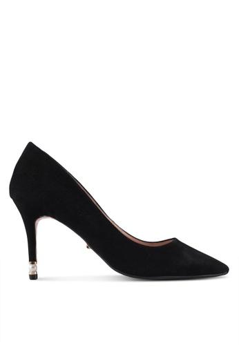 Dune London black Pearl Heel Point Court Heels 22398SH257592CGS_1